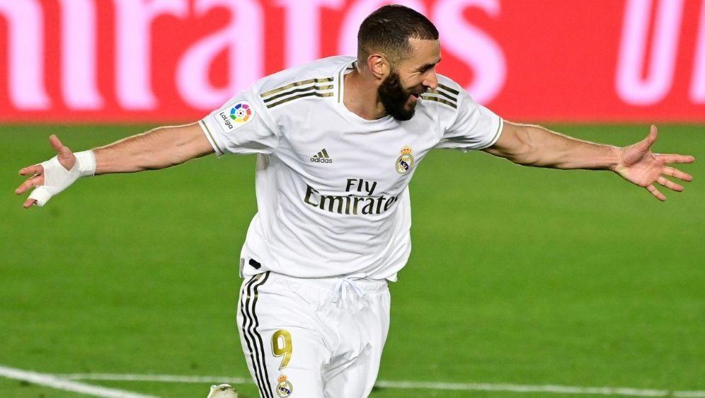 Karim Benzema traf zur Führung - Bildquelle: AFPSIDJAVIER SORIANO