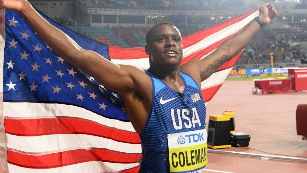 Christian Coleman geht nicht über 200m an den Start - Bildquelle: AFPSIDKIRILL KUDRYAVTSEV