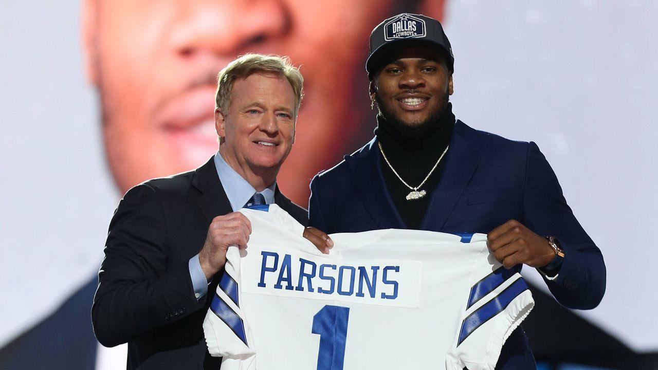 Micah Parsons (Linebacker/Dallas Cowboys) - Bildquelle: imago images/UPI Photo