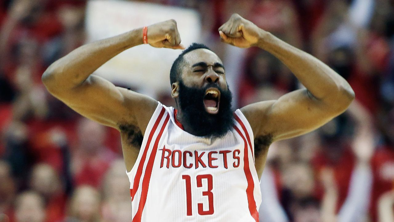Platz 4: James Harden - Bildquelle: Getty