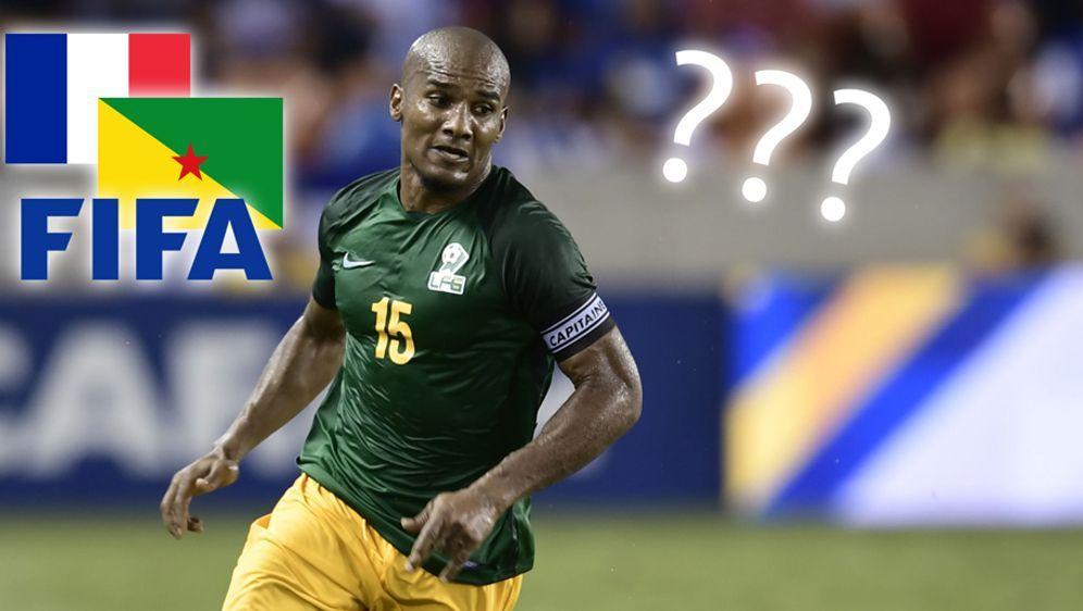 Florent Malouda spielt beim Gold Cup für Französisch-Guayana - ob er nun dar... - Bildquelle: Getty Images