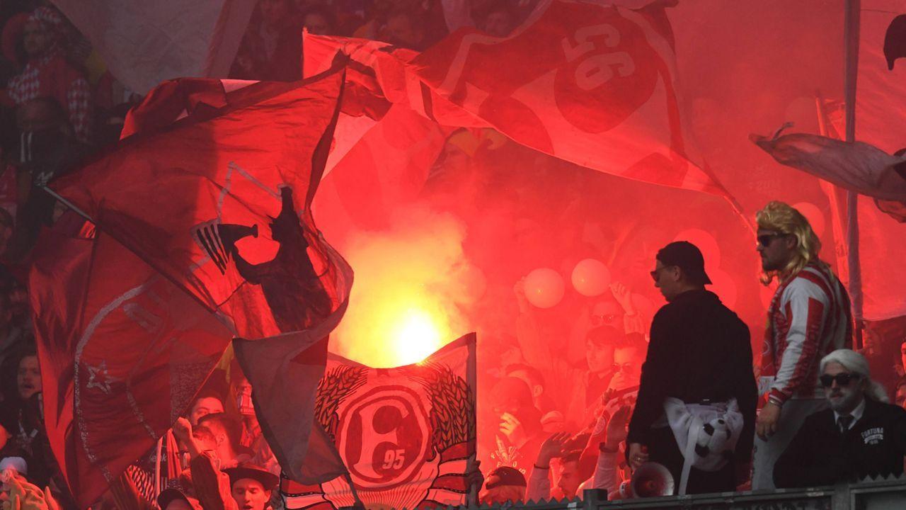 Platz 4: Fortuna Düsseldorf - Bildquelle: imago images / Eibner