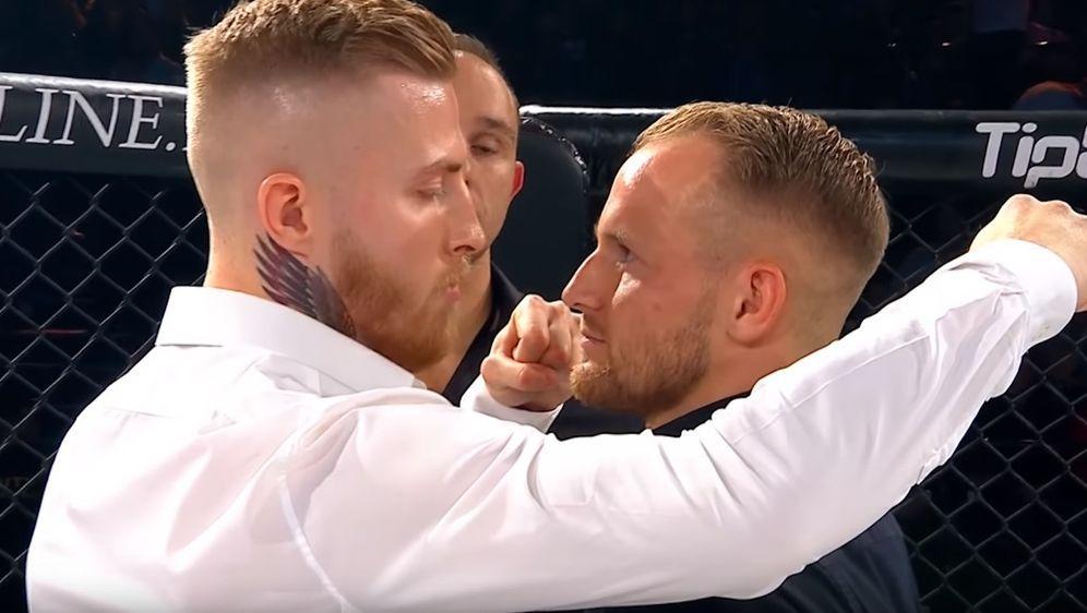 Maurice Adorf (li.) und Alexander Wiens - Bildquelle: GMC MMA