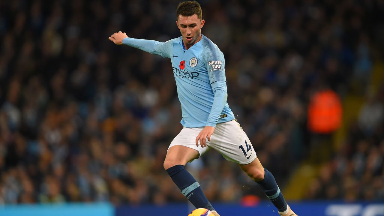 Platz 8 - Aymeric Laporte (Manchester City) - Bildquelle: 2018 Getty Images
