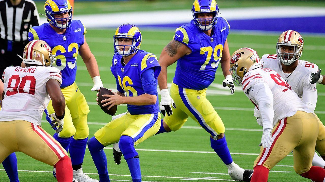 Platz 13: Los Angeles Rams (10-6) - Bildquelle: Imago