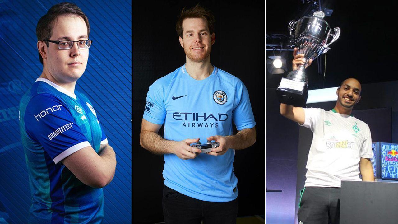 Bundesliga im eSport - Bildquelle: Schalke eSport / Manchester City eSport / Mo Aubameyang