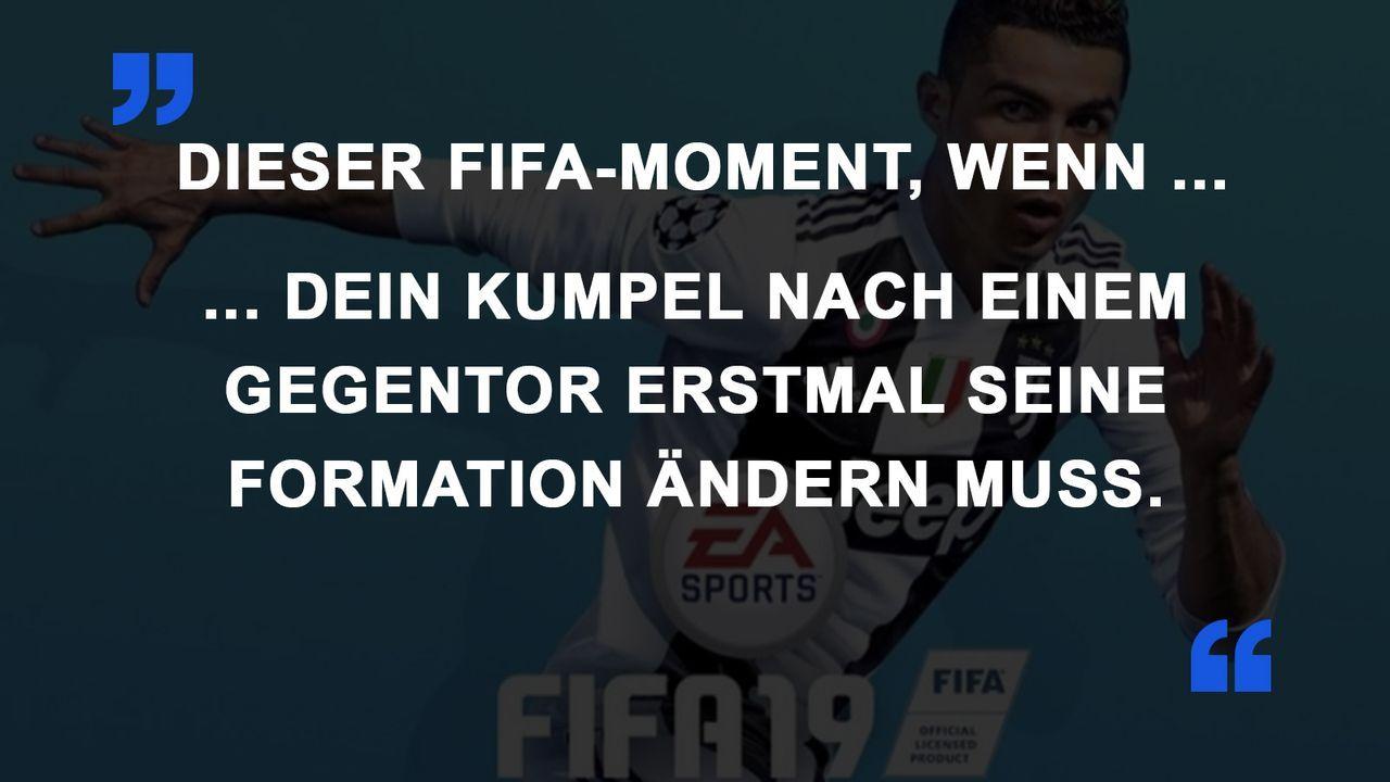 FIFA Momente Formation