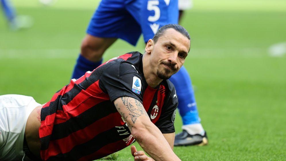 Im Spiel gegen Parma sah Ibrahimovic die Rote Karte - Bildquelle: FIROFIROSID