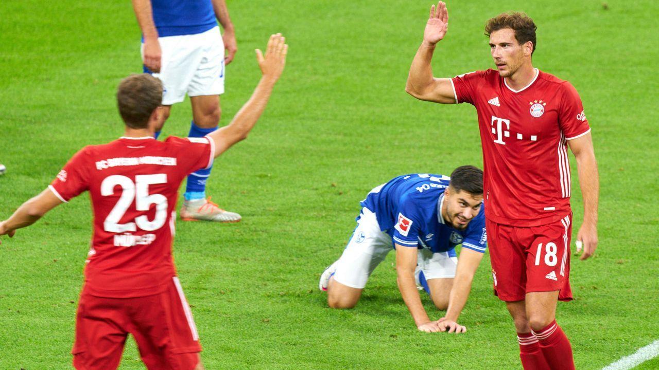 Zum Saisonstart: 8:0-Schützenfest gegen Schalke - Bildquelle: imago images/ActionPictures