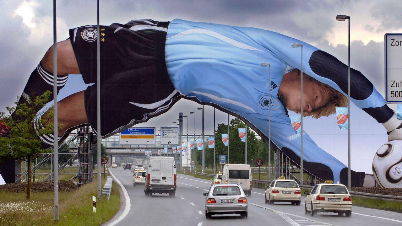Oliver Kahn die Werbeikone