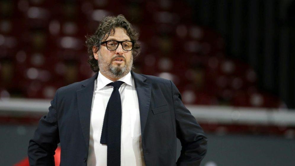 Basketball: Bayern Münchens Coach Andrea Trinchieri - Bildquelle: FIROFIROSID
