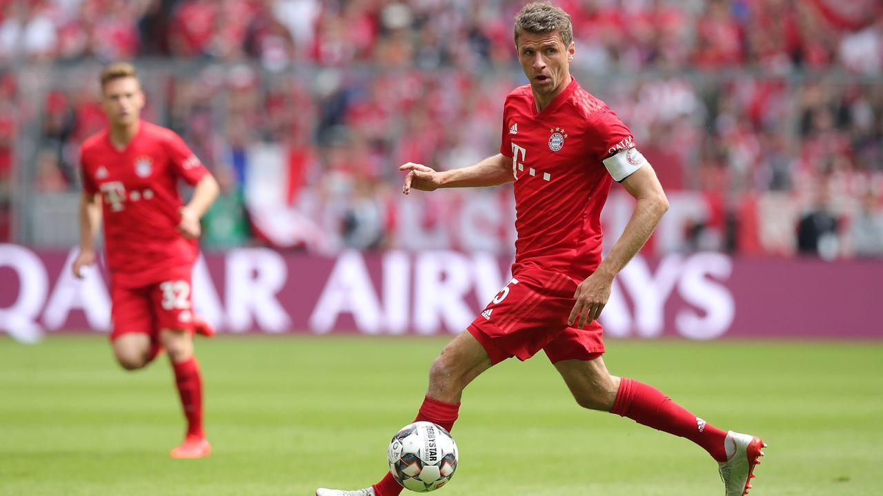 Platz 5 - Thomas Müller (FC Bayern München) - Bildquelle: 2019 Getty Images