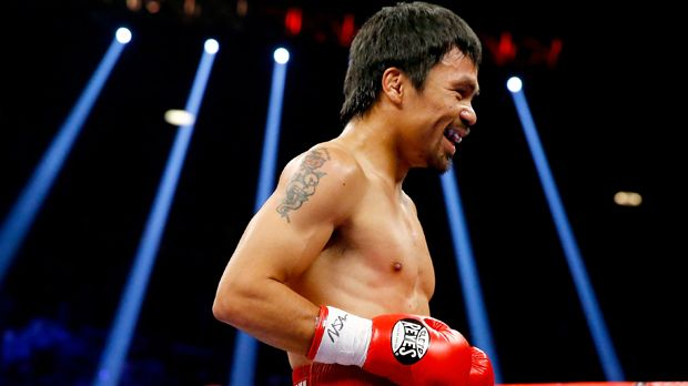 Manny Pacquiao - Bildquelle: 2015 Getty Images