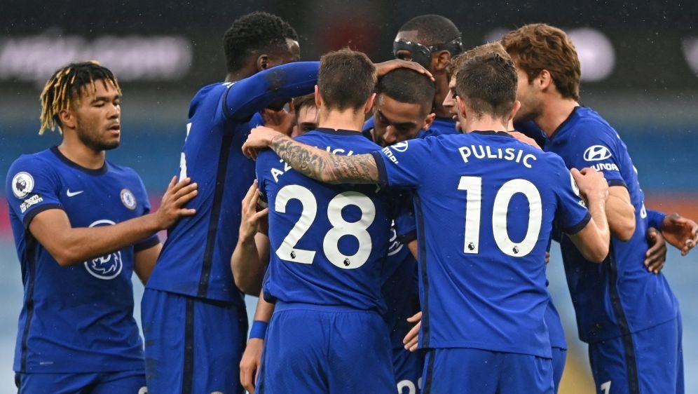 Chelsea hat das Duell mit ManCity für sich entschieden - Bildquelle: AFPPOOLSIDSHAUN BOTTERILL