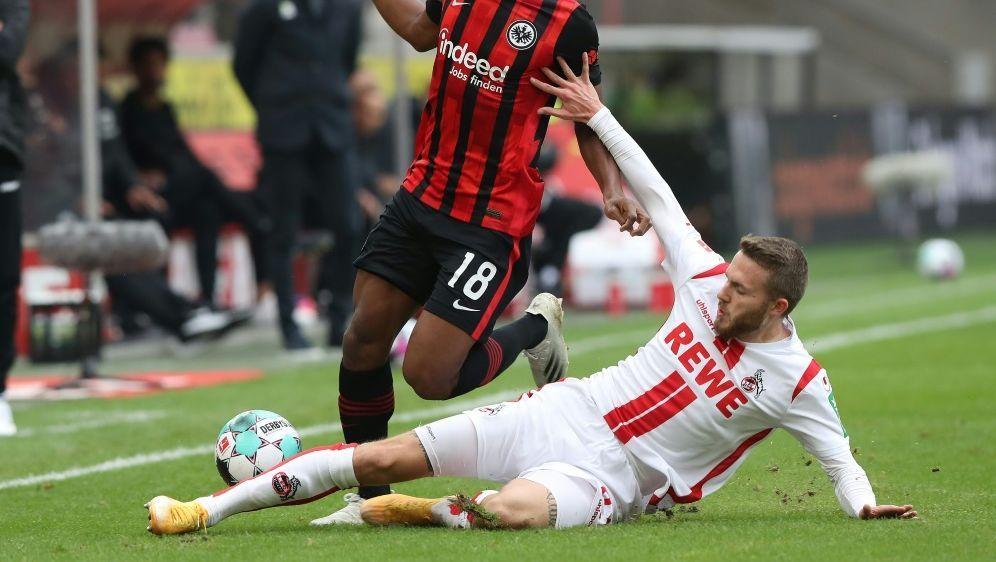 Die Kölner holen ihren ersten Punkt gegen die Eintracht - Bildquelle: FIROFIROSID