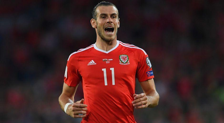 Linksaußen: Gareth Bale - Bildquelle: 2017 Getty Images