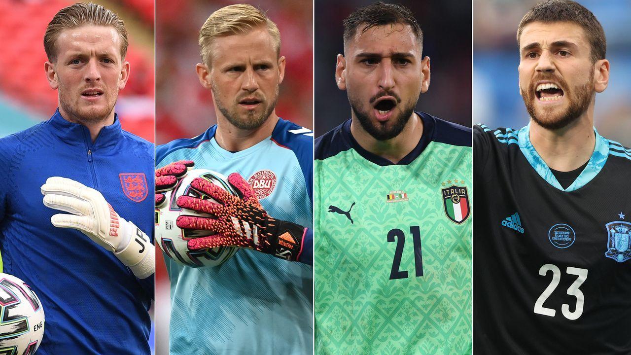 Vier Halbfinalisten, vier Keeper, vier Geschichten