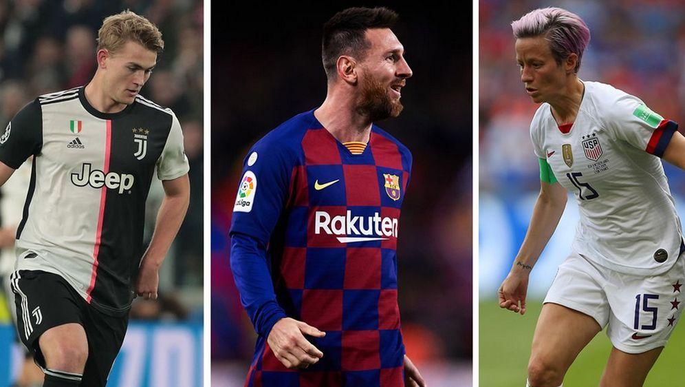 Lionel Messi und Megan Rapinoe gewinnen Ballon d'Or, Matthijs de Ligt bester... - Bildquelle: Getty