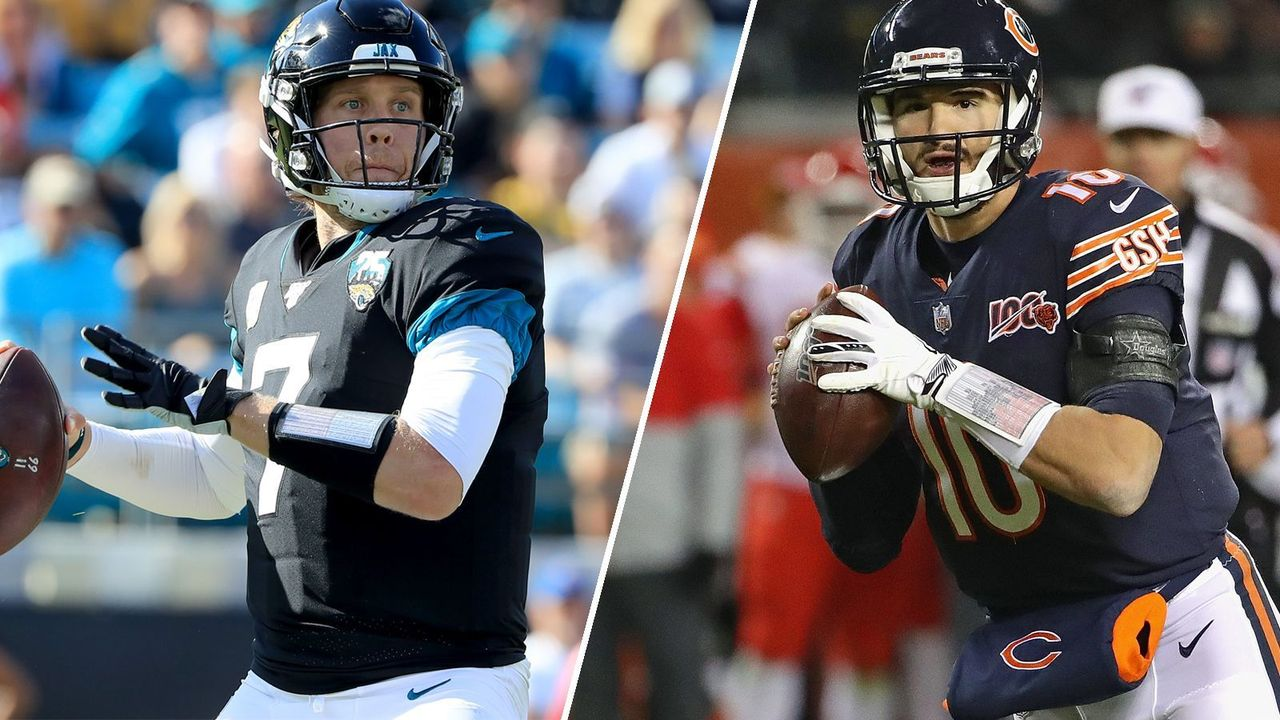 Nick Foles vs. Mitch Trubisky (Chicago Bears) - Bildquelle: getty