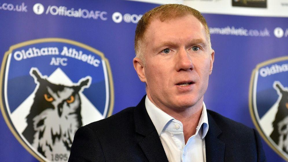 Scholes war zuletzt Teammanager von Oldham City - Bildquelle: PIXATHLONPIXATHLONSID