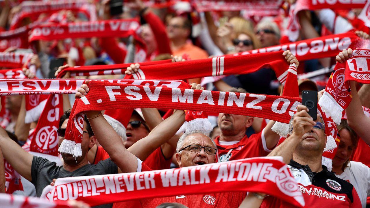 Platz 17 - 1. FSV Mainz 05 - Bildquelle: imago images / Revierfoto