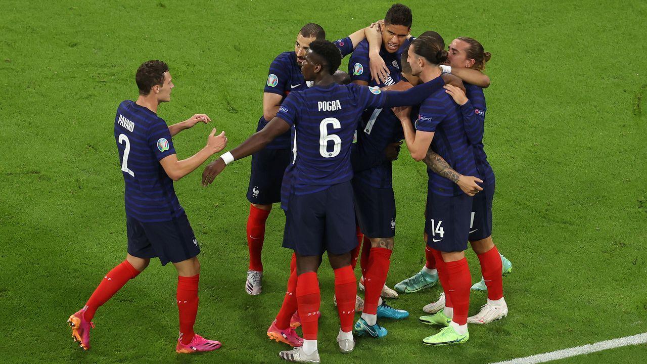 1. Platz: Frankreich - Bildquelle: Getty Images