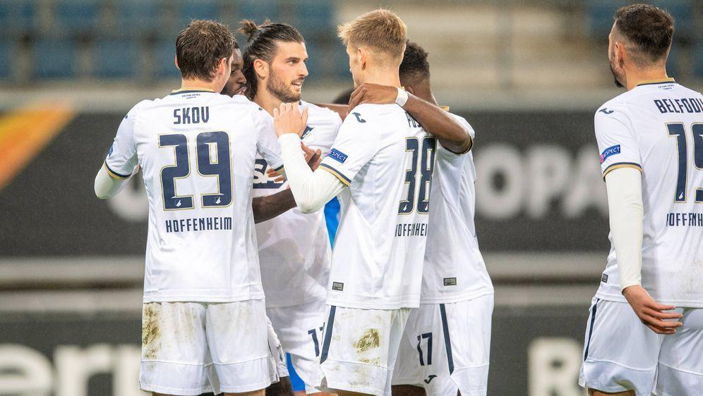 Die TSG Hoffenheim feierte einen souveränen Sieg gegen KAA Gent - Bildquelle: imago images/Eibner