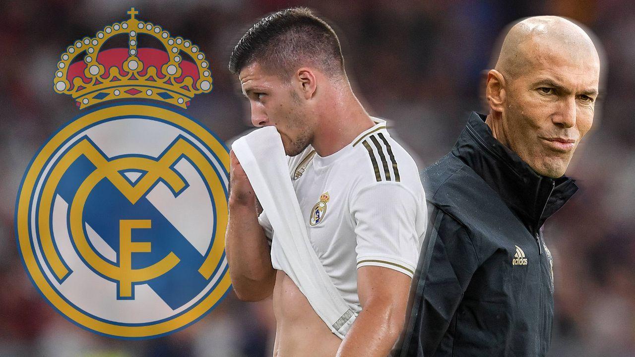 Luka Jovic (Real Madrid) - Bildquelle: 2019 imago