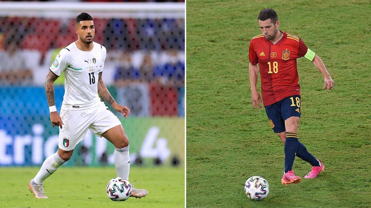 Linksverteidigung: Emerson vs. Jordi Alba - Bildquelle: Imago Images