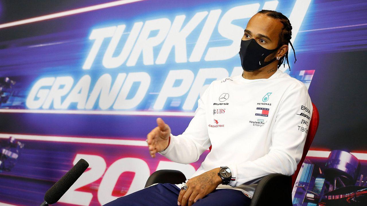 Lewis Hamilton soll um 133-Millionen-Vertrag pokern - Bildquelle: imago images/Nordphoto