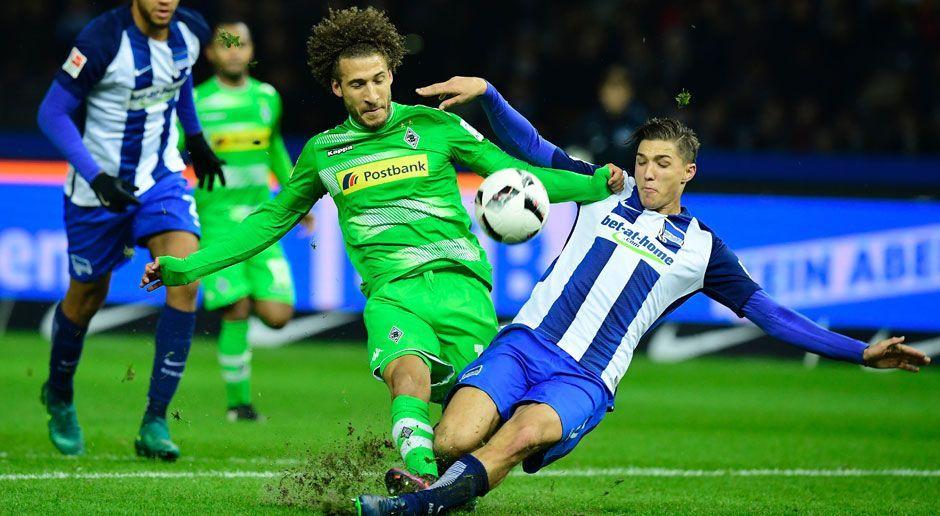Borussia Mönchengladbach vs. Hertha BSC - Bildquelle: This content is subject to copyright.