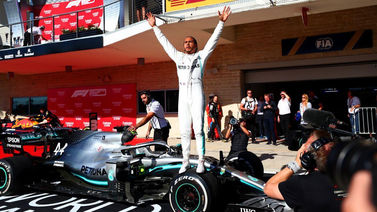 Der Favorit: Lewis Hamilton - Bildquelle: 2019 Getty Images