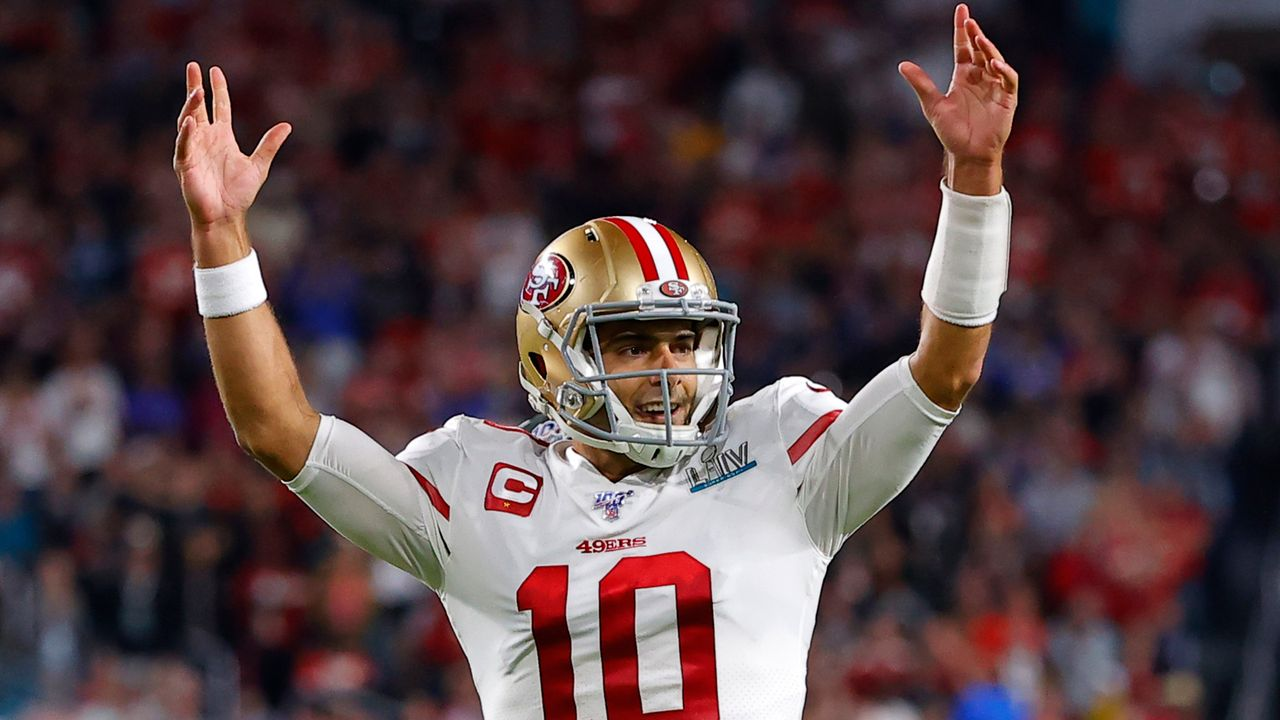 San Francisco 49ers: Jimmy Garoppolo (QB) - Bildquelle: Getty