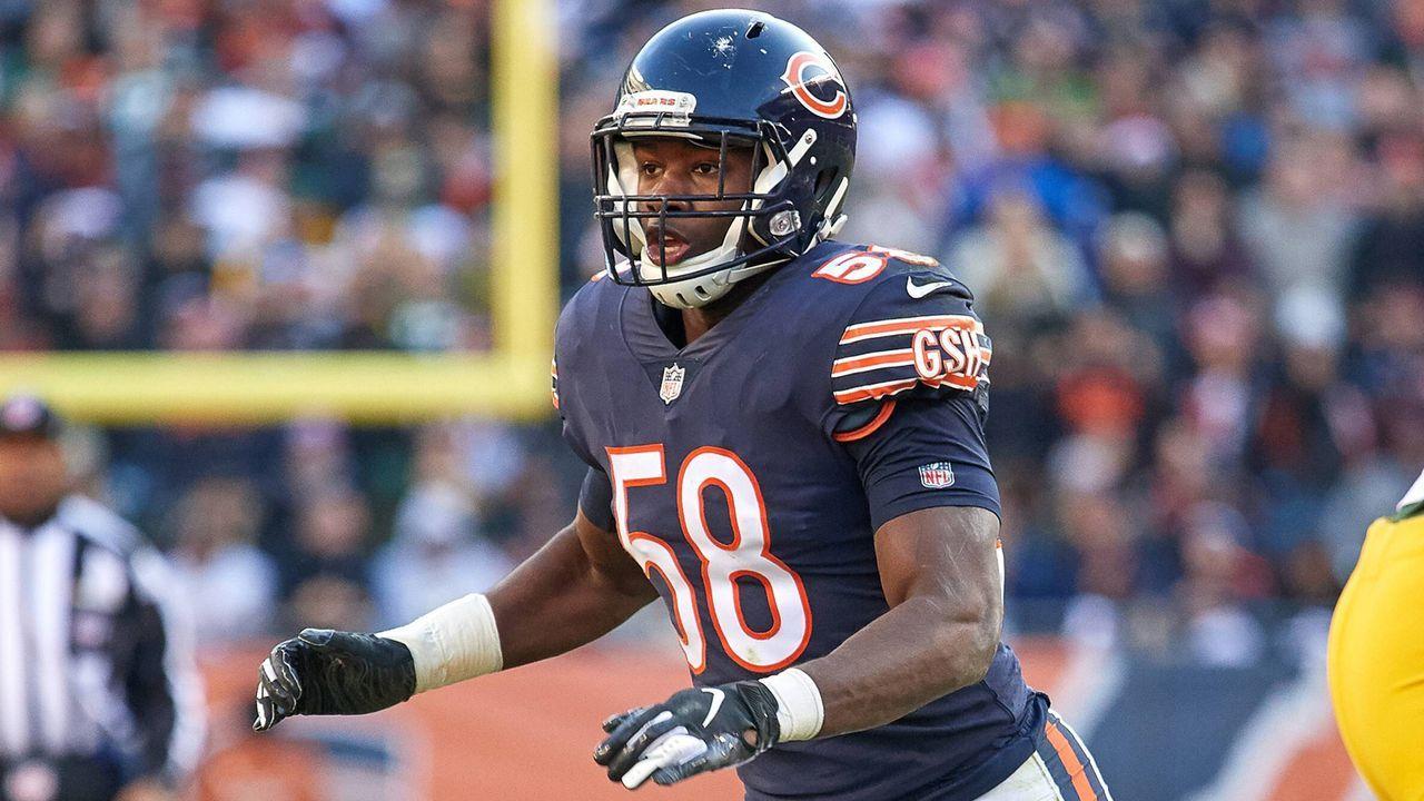 Pick 8: Roquan Smith (Linebacker, Chicago Bears) - Bildquelle: imago/Icon SMI