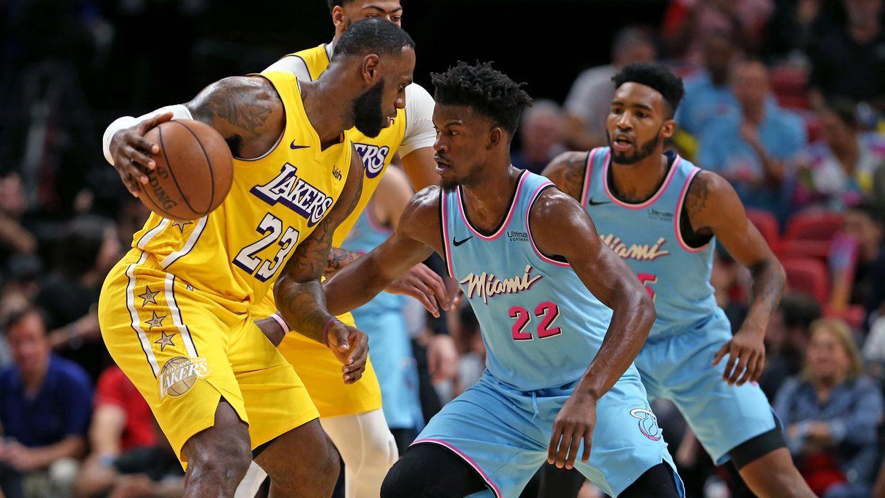 NBA-Finals zwischen Lakers und Heat - Bildquelle: imago images/ZUMA Press
