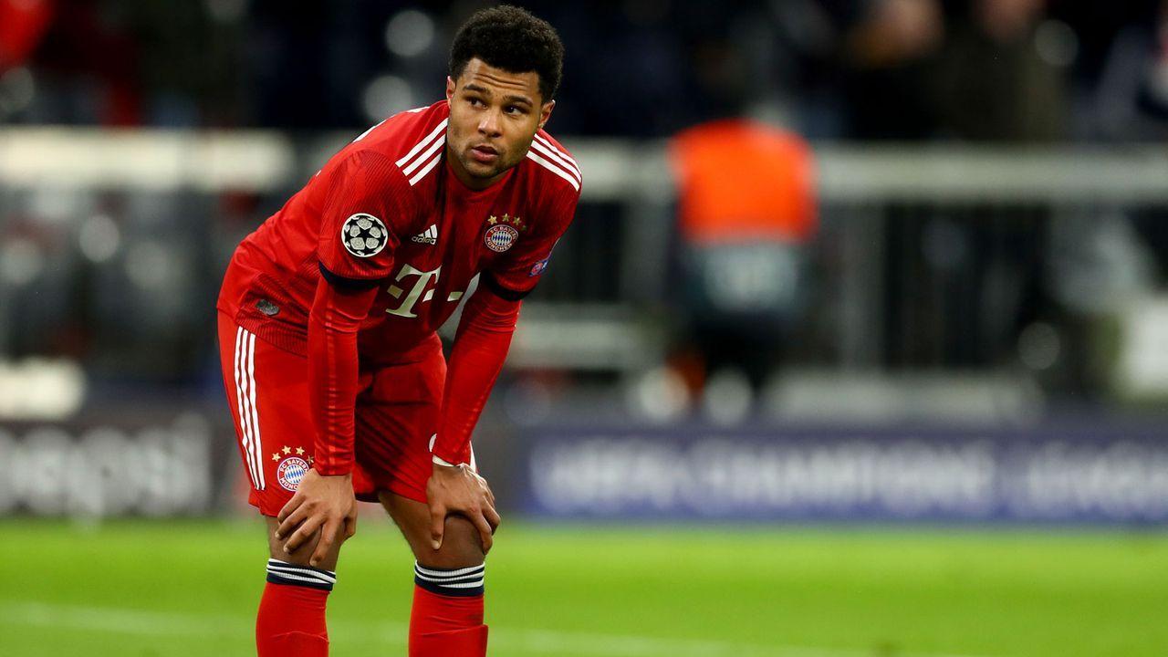2. These: Die Bayern scheiden in der CL-Gruppenphase aus - Bildquelle: 2019 Getty Images