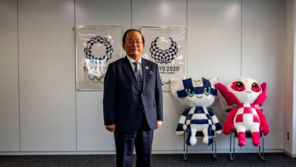 Kein Zweifel an Olympia: OK-Chef Toshiro Muto - Bildquelle: AFPSIDPHILIP FONG