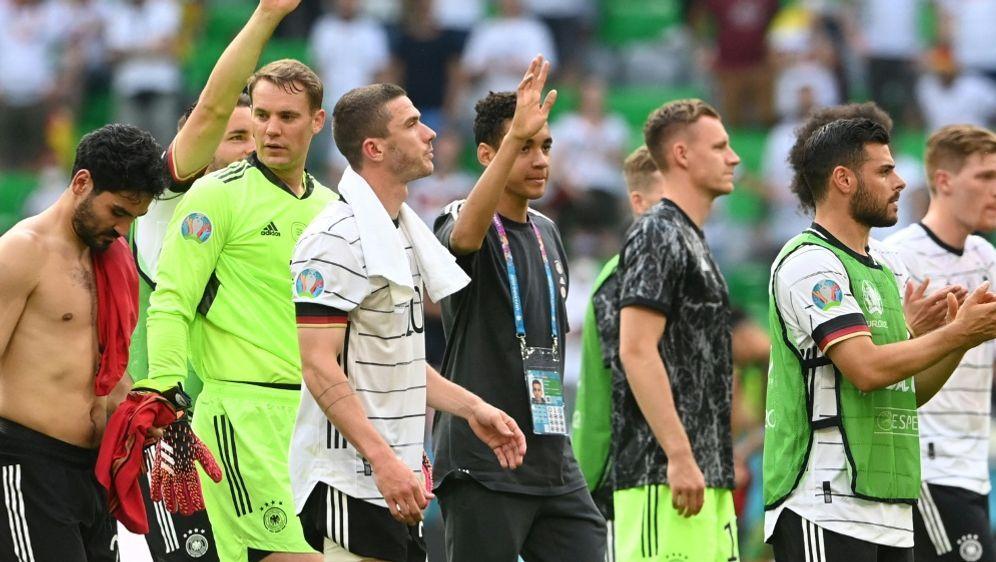 Die Lage der deutschen Mannschaft - Bildquelle: AFPSIDCHRISTOF STACHE