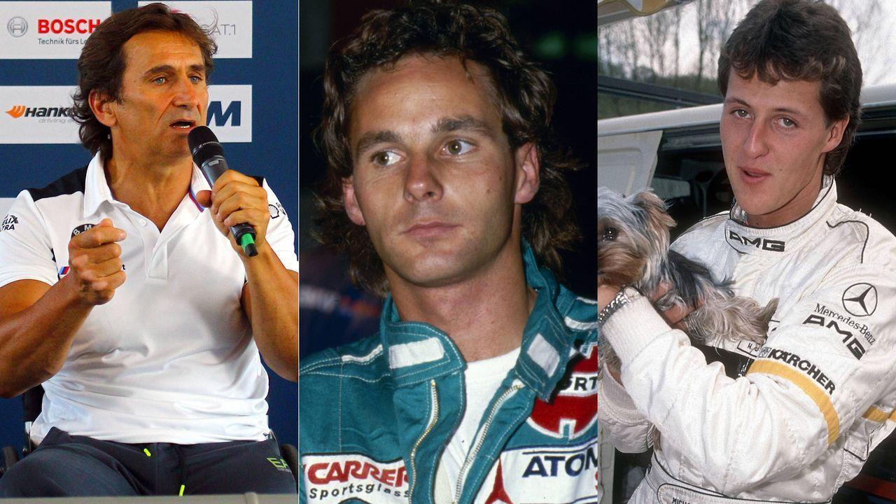 Schumacher, Berger, Zanardi: Prominente Gaststarter in der DTM - Bildquelle: Imago