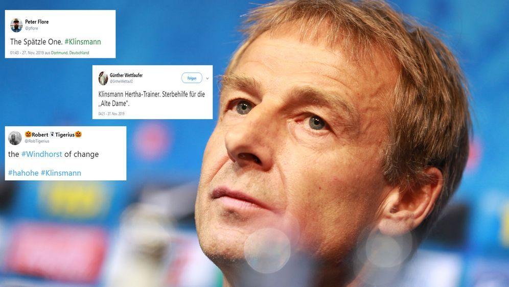 Was kommt da auf Berlin und die Bundesliga zu? Das Internet diskutiert die V... - Bildquelle: Getty Images, Twitter