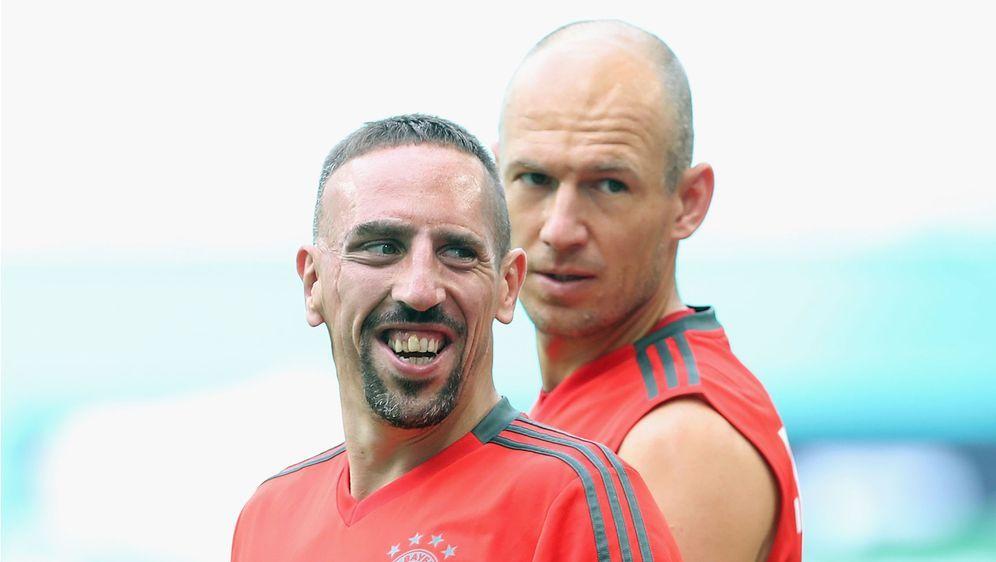 Robben und Ribery fehlen den Bayern auch in Leverkusen - Bildquelle: Getty