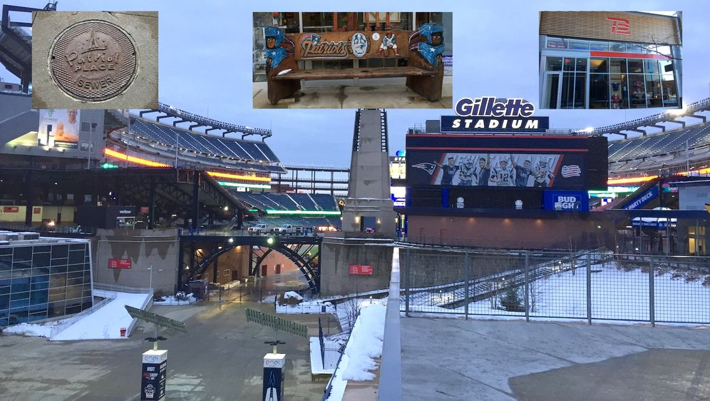 Das Gillette Stadium ist Teil der Patriots-Welt. - Bildquelle: ran