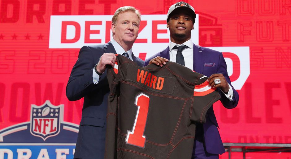 4. Denzel Ward (Cornerback, Cleveland Browns)  - Bildquelle: 2018 Getty Images