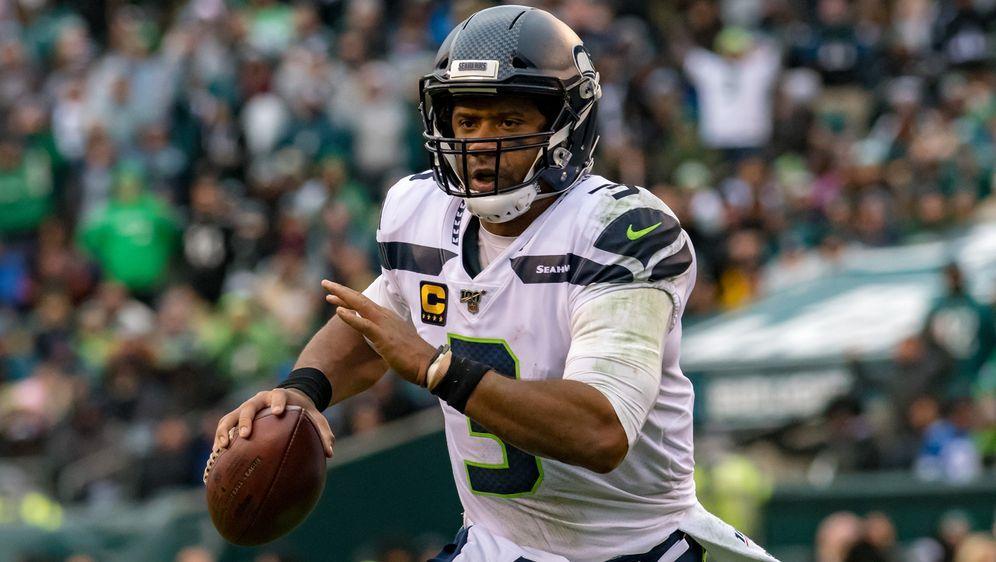Russell Wilson hat mit den Seattle Seahawks einen weiteren Schritt in Richtu...