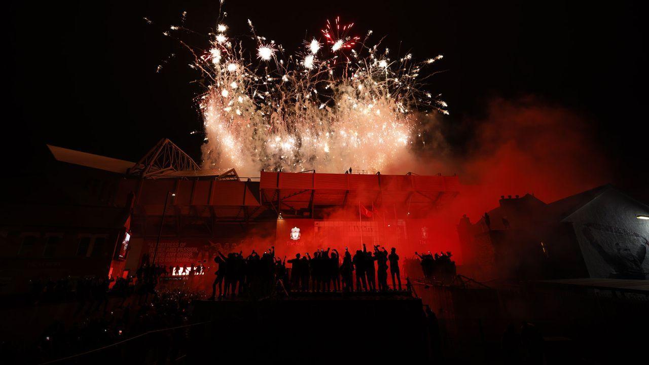 Schattenspiele vor dem Stadion - Bildquelle: Getty Images