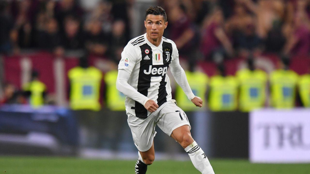 3. Cristiano Ronaldo (Juventus Turin) - Bildquelle: 2019 Getty Images