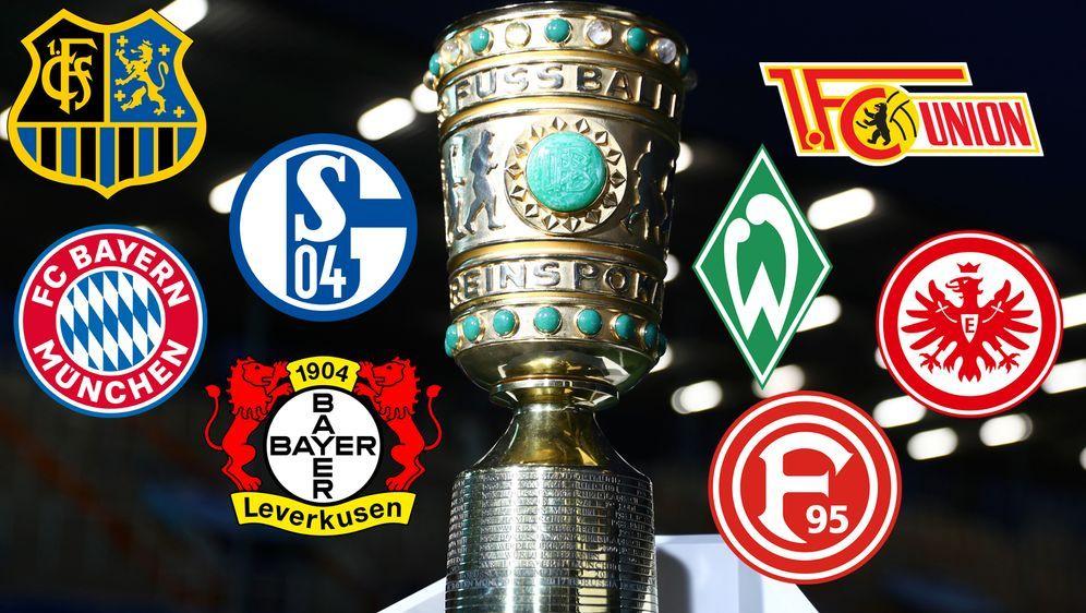 Die heiße Phase des DFB-Pokal beginnt: Anfang März wird das Viertelfinale au... - Bildquelle: Getty Images