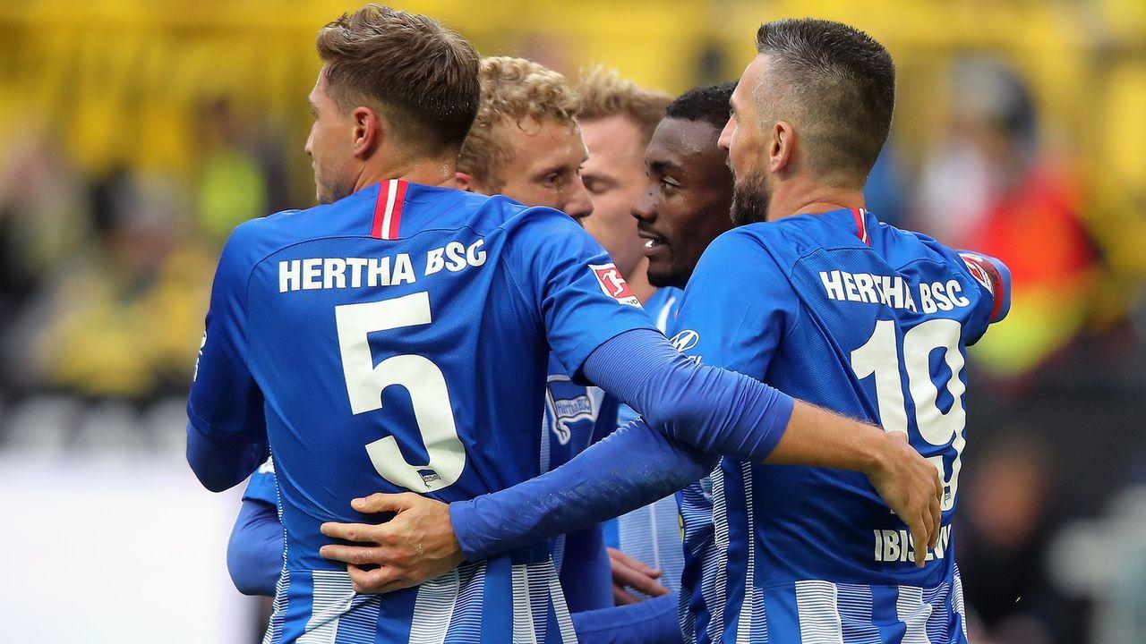 Platz 12 - Hertha BSC - Bildquelle: 2018 Getty Images