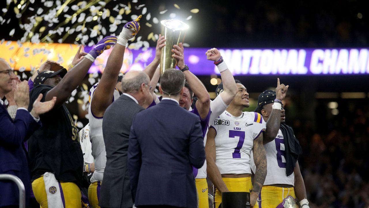 Das College-Football-Playoff-Ranking vom 24. November 2020 - Bildquelle: 2020 Getty Images