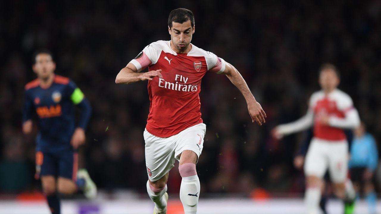 Mittelfeld: Henrikh Mkhitaryan (FC Arsenal) - Bildquelle: 2019 Getty Images